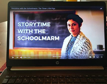 Storytime with Schoolmarm